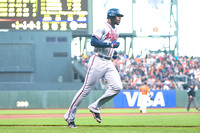 MLB: AUG 24 Braves at Giants