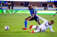 SOCCER: APR 11 MLS - Whitecaps at Earthquakes