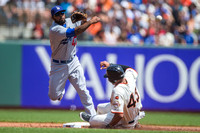 MLB: APR 23 Dodgers at Giants