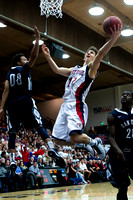 NCAA BASKETBALL: JAN 24 San Diego at Saint Mary's