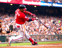MLB: AUG 15 Nationals at Giants