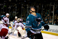 NHL: Blue Jackets at Sharks 3 November 2015
