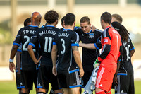 SOCCER: JUL 20 Exhibition - Norwich City  at Earthquakes