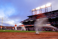 MLB: Giants v Brewers 7 August 2013