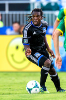 SOCCER: Exhibition - Norwich City FC v SJ Earthquakes