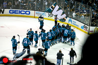 NHL Stanley Cup Playoffs: Kings at Sharks 20 April 2016