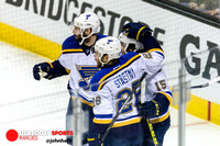 NHL: Stanley Cup Playoffs-St. Louis Blues at San Jose Sharks