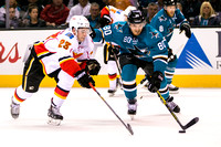 NHL: FEB 09 Flames at Sharks