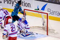 NHL: OCT 08 Rangers at Sharks