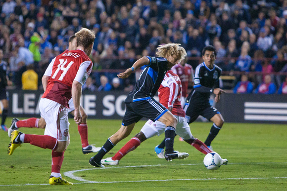 SOCCER: SEP 19 MLS - Timbers at Earthquakes