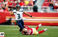 NFL: Seahawks at 49ers 26 November 2017
