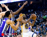 NBA: Kings at Warriors 24 March 2017