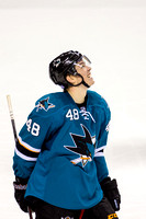 NHL: Kings at Sharks 9 October 2013