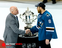 NHL: Western Conference Championships Game 6: Blues at Sharks 25 May 2016