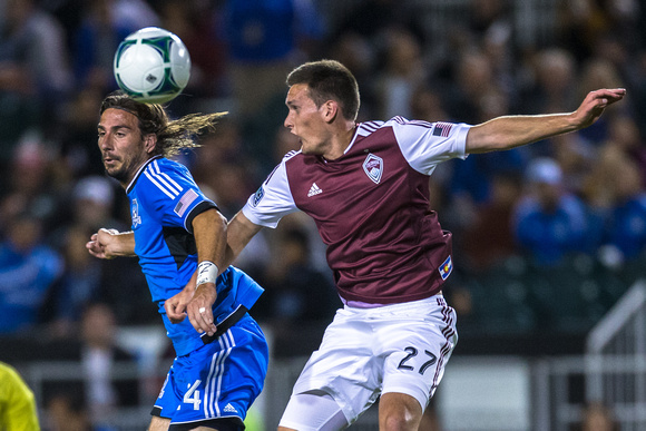 SOCCER: OCT 09 MLS - Rapids at Earthquakes